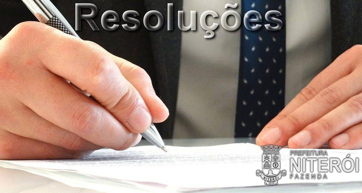 Resolução SMF nº 01/2012