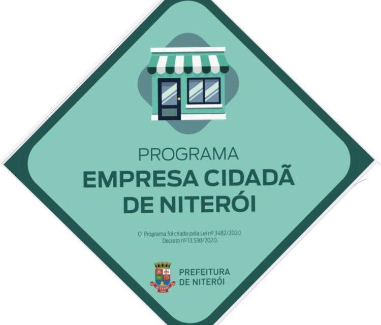 Prefeitura de Niterói amplia por mais dois meses os programas Empresa Cidadã 1 e 2