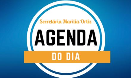agenda do dia
