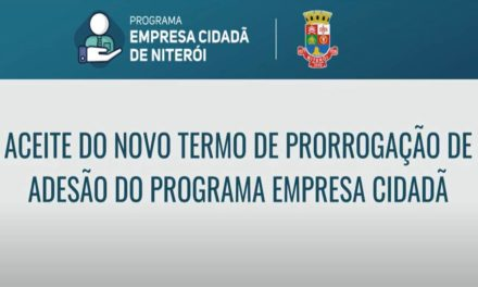 Novo aceite do Programa Empresa Cidadã